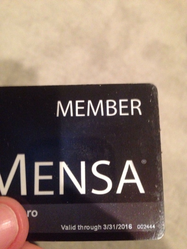 How to know if someone belongs to Mensa - Quora