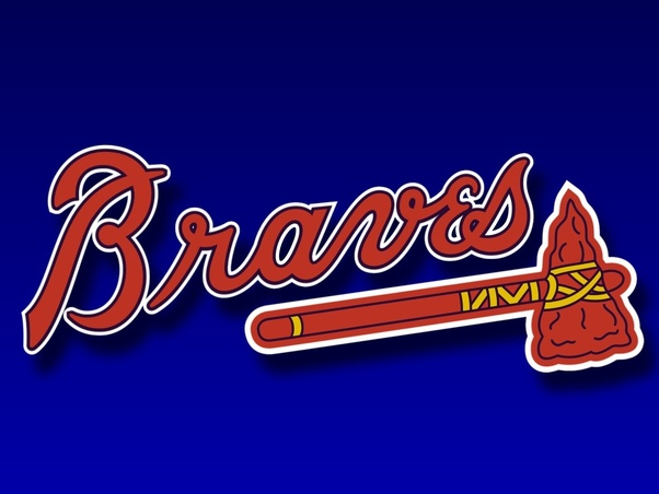 what is the font of the atlanta braves logo quora rh quora com Atlanta Braves Logo Clip Art atlanta braves logo font download