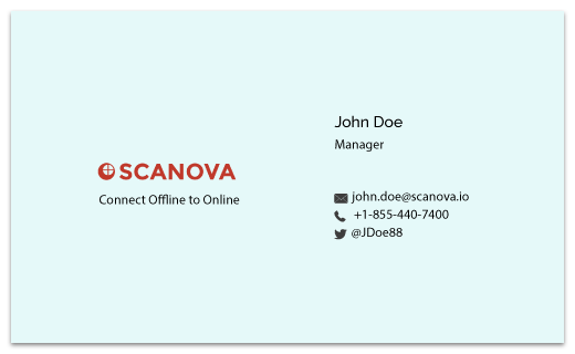 Should i have a qr code on my business card quora a typical business card looks like this colourmoves