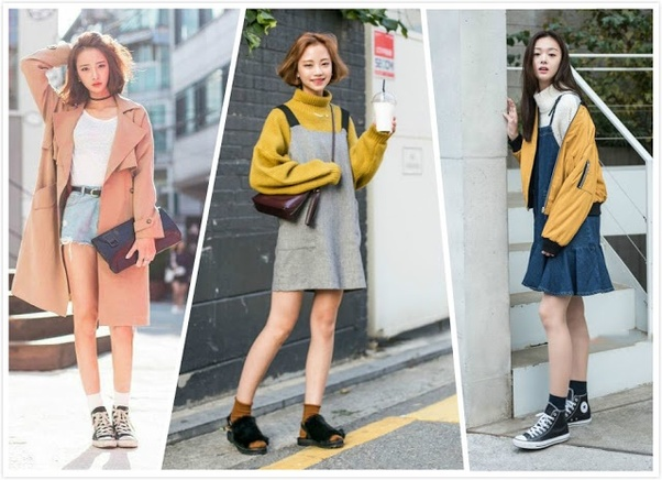 casual korean dress outfits