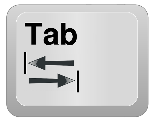Which key functions as the opposite of the tab key? - Quora