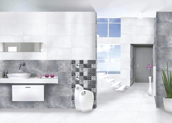 The Best Designer Bathroom Wall Tiles Are Glossy Tiles And Satin Matt Tiles  Offering With The Best Bathroom Tiles Design And Bathroom Floor Tiles Can  Be ...