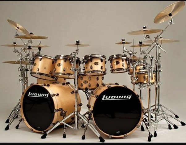 You Could Put Each In Front Of Its Own Kick Drum Thats How It Was Done Before The Advent Double Pedal Some Still Do Today