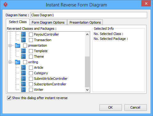 How to automatically generate a uml diagram from a java project quora i suppose you want to reverse java code to uml class diagram i suggest you can try this feature offered by visual paradigm ccuart Image collections