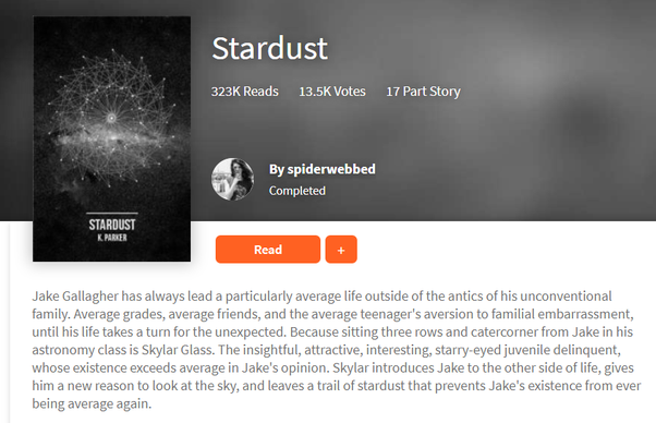 What are the best books on Wattpad? - Quora