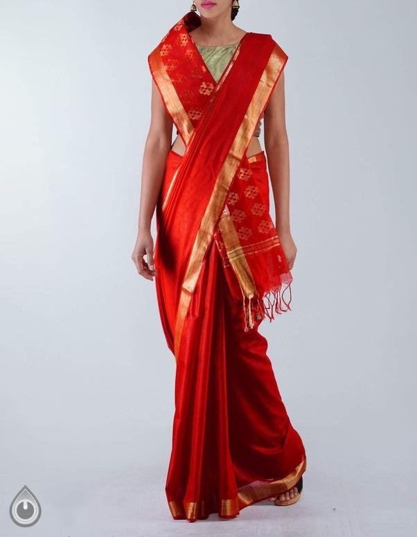 Why Do Tamil Brides Wear Red Cotton Saree Koora Pudavai