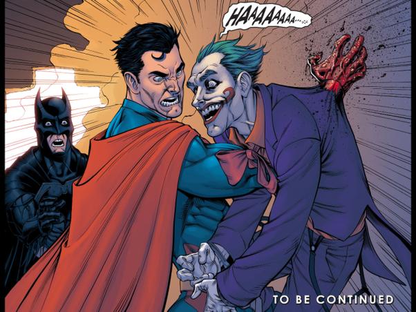 Why did Superman kill Joker? - Quora
