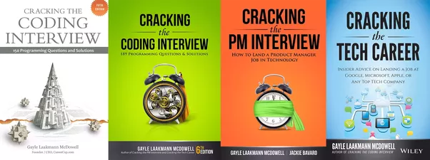 what do the covers for gayle laakmann mcdowell s cracking the