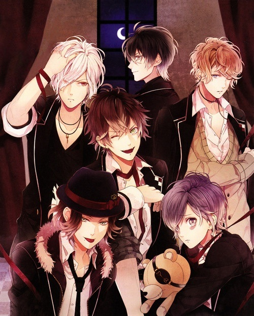 Its An Anime Series About Vampires People Are Into That Type Of Stuff Plus A Reverse Harem Female Main Character Around Lot Male