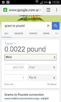 Es una kilos libra cuantos
