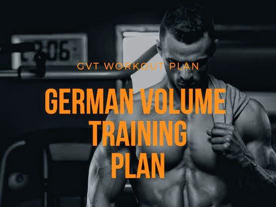 german volume training diet plan