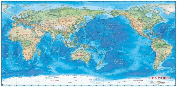 Why are maps always like this quora in contrast atlantic ocean is quite narrower compared to pacific ocean and can be easily occupied in the maps at much less wider scale gumiabroncs Image collections