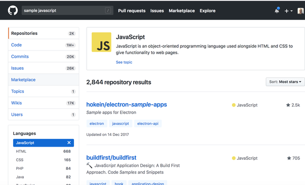 Where can I find sample projects to practice Javascript? - Quora