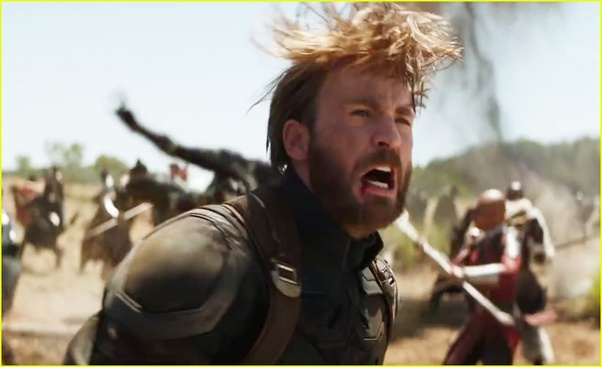 In The New Infinity War Trailer, Captain America Is Seen