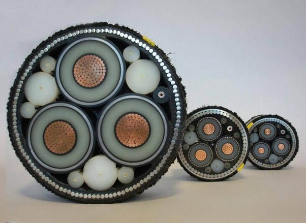 Electrical Grids What Do Submarine Power Cables Look Like