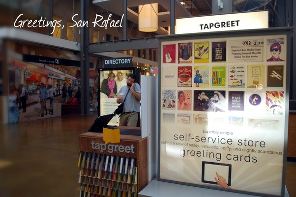 Is anyone innovating in the greeting cards space quora heres a photo of our launch in san rafaels northgate mall m4hsunfo Image collections