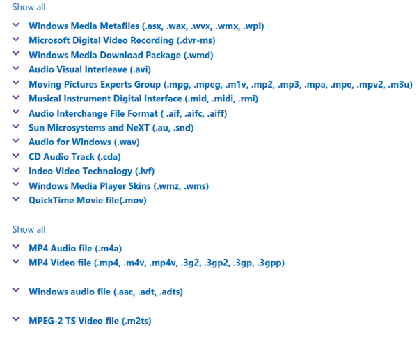 What is the file extension of a media player? - Quora