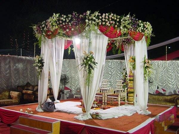 Wedding Gate Decoration Stage