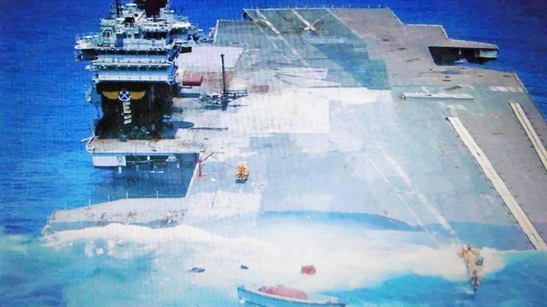 Can a submarine sink an aircraft carrier? - Quora