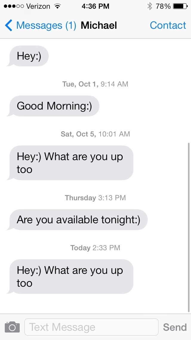 why hasn t he texted me in 3 days