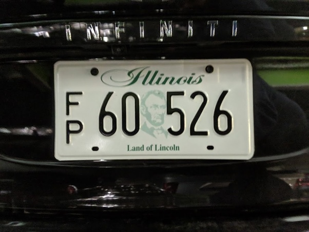 What does the letters FP on license plates mean? The FP is on the