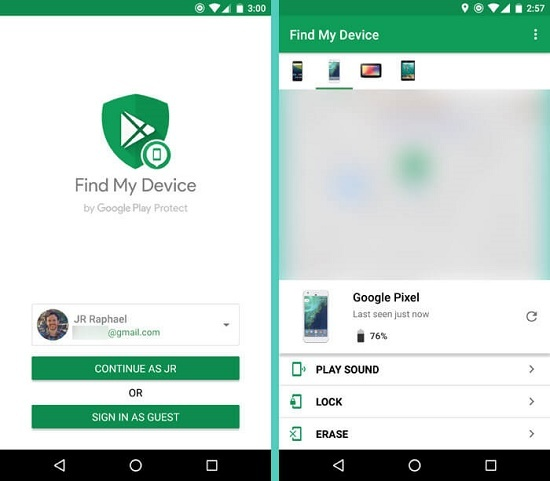 How to find my lost IMEI phone number using a Google account