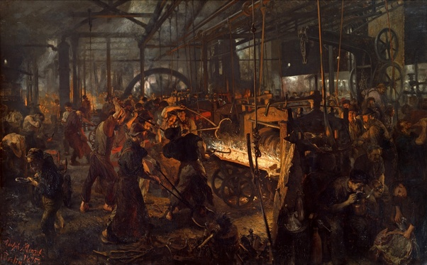 What Major Influence Did The Industrial Revolution Have On Art