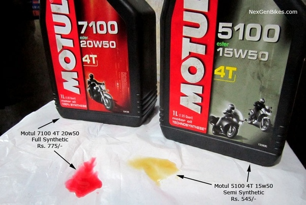Which is the best synthetic engine oil for my 150cc Bajaj V15 bike