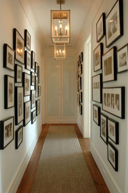Which is the best place to display a photo wall in your home? - Quora