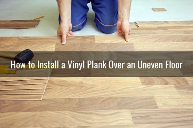 Slate Tile Over Sheet Vinyl Flooring, How To Install Laminate Flooring On Uneven Concrete Basement Floor
