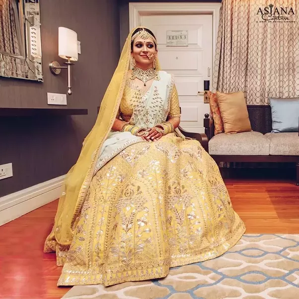 What colors of bridal wear do Indian brides prefer more? - Quora