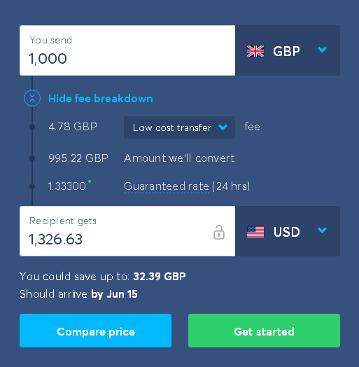 Transfer The Gbp Into Their Uk Account And Two Days Later Your Usd Will Be Credited With Funds
