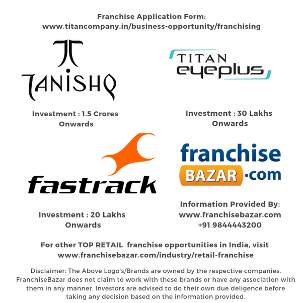 Does tanishq work on franchise model? If yes, then what is