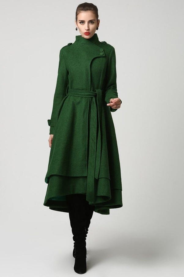 3556d573242 What winter wear looks good with kurtis  - Quora