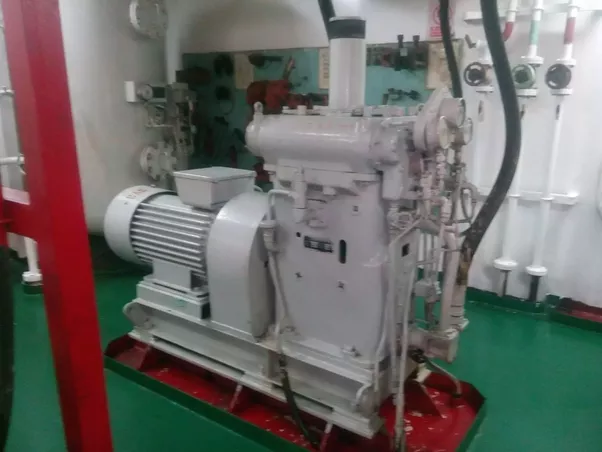 What Types Of Equipment Are There In The Engine Room Of A