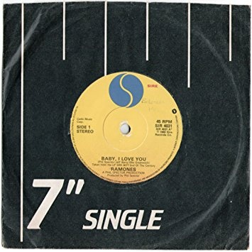 Acrylic Pattern 45 RPM 7 Vinyl Record Adapter Yellow