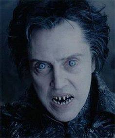 Undead Christopher Walken With Razor Sharp Teeth And Hypnotic Blue Eyes. So  It Would Be Like In Sleepy Hollow.