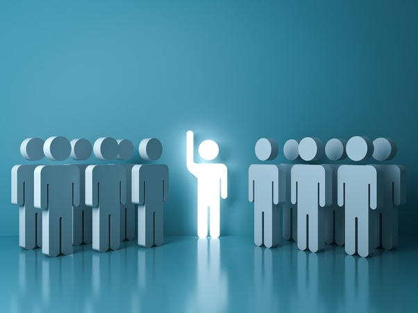 What are some adjectives to describe people with leadership
