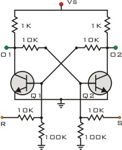 Flip Flop Diagram Circuit   How Did Eniac S Early Flip Flop Circuits Work Quora