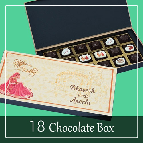 What are some of the best designed wedding invitation cards quora apart from deciding what pictures or text to print on the chocolate pieces you also get to customise the entire box making it unique for each and every stopboris Images