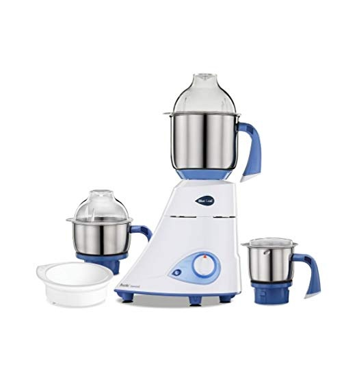 Preethi Blue Leaf Gold Mixer Grinder 230 V 750 Watts