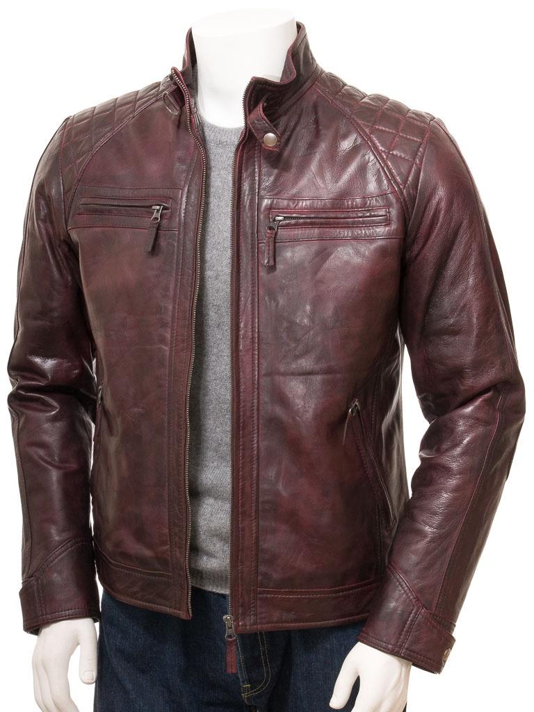 brown vs black leather jacket