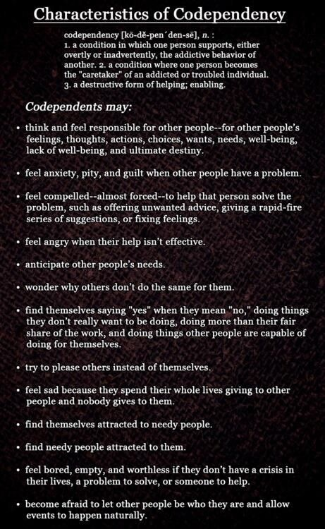 How to help someone who is codependent