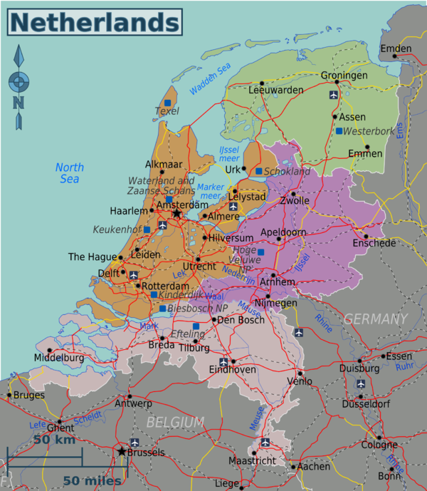 What are some of the interesting facts about the NetherlandsBelgium