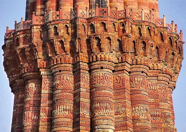 Image result for kutub minar inside hindu temple