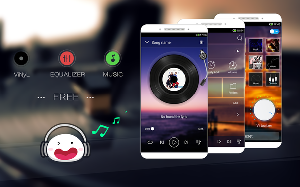 What mp3 player app in Android can show lyrics embedded in ...