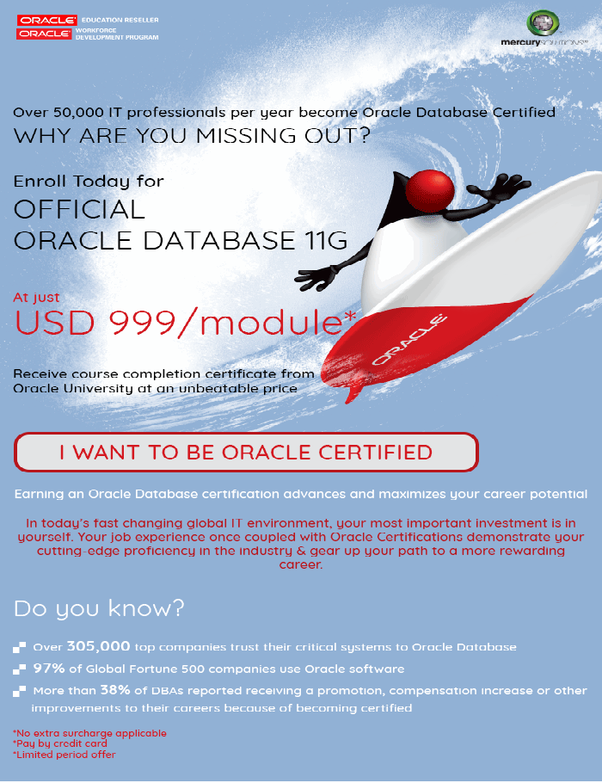 Which Is The Best Institute In Delhi Ncr For Oracle 11g Dba For