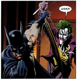describe batman character