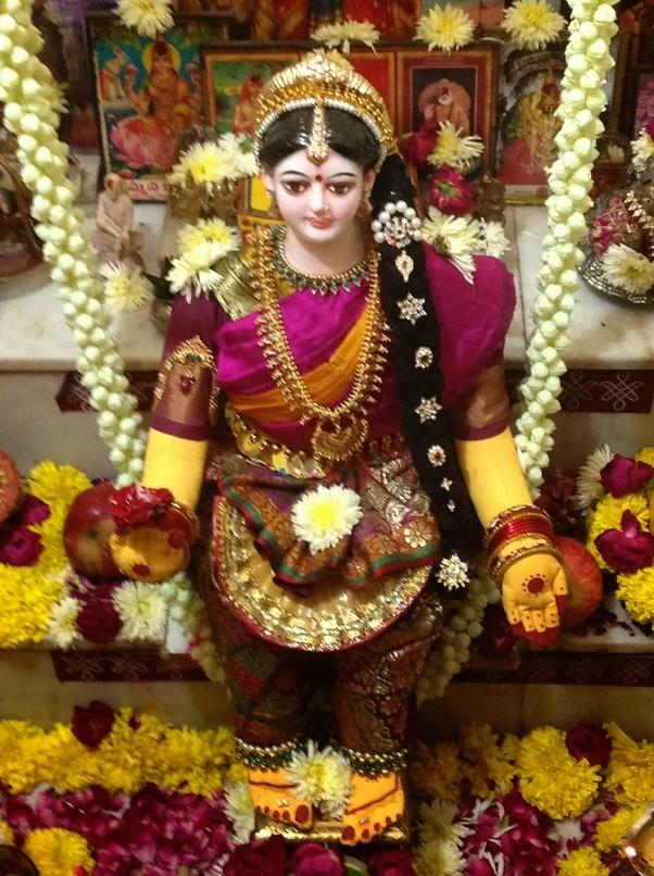 Image result for vara laxmi devi images