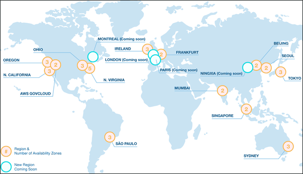 What is an AWS region? - Quora